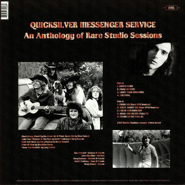 Quicksilver Messenger Service An Anthology Of Rare Studio Sessions (lp)