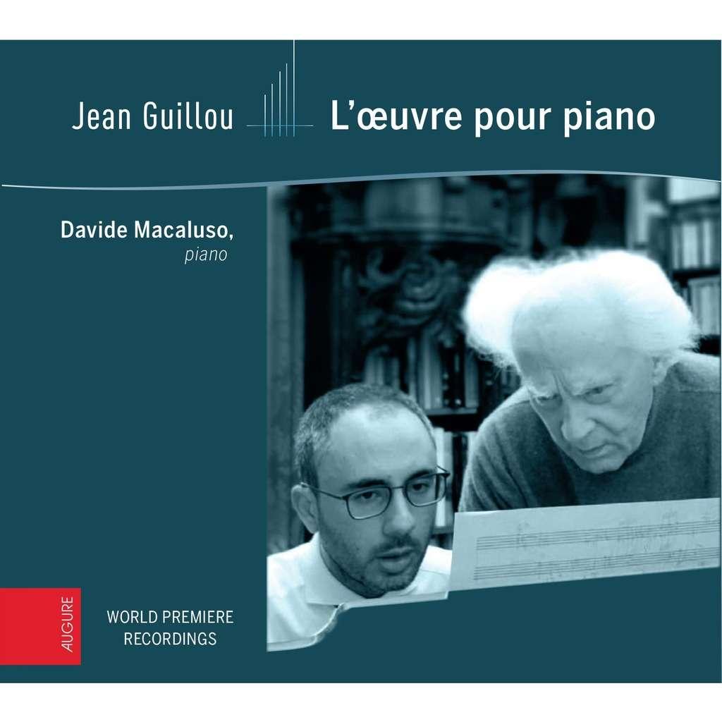 Davide MACALUSO Jean Guillou - L'œuvre pour piano