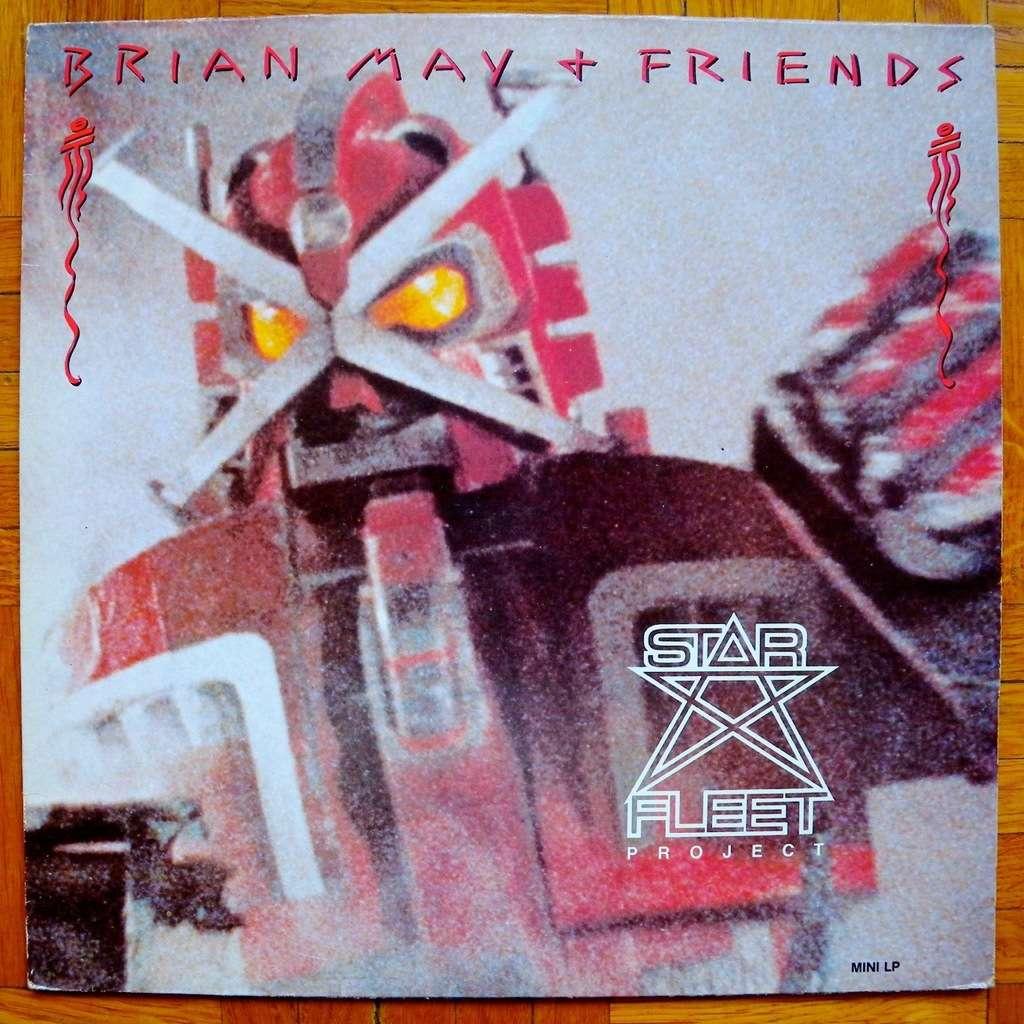 Brian May (Queen) & Friends (Van Halen, etc.) Starfleet Project (english pressing)