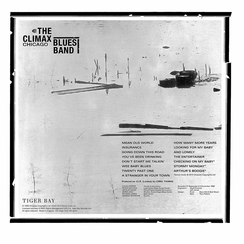 The Climax Chicago Blues Band The Climax Chicago Blues Band (lp) Ltd Edit With Bonus Tracks -U.K