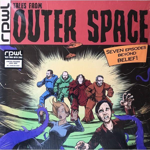 RPWL Tales From Outer Space (lp) Ltd Edit Green Vinyl -E.U