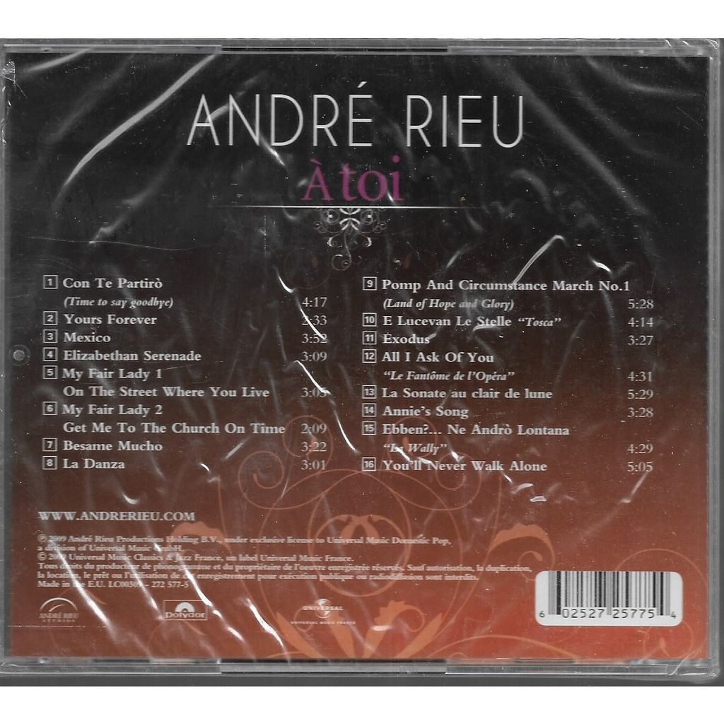 André Rieu Á Toi