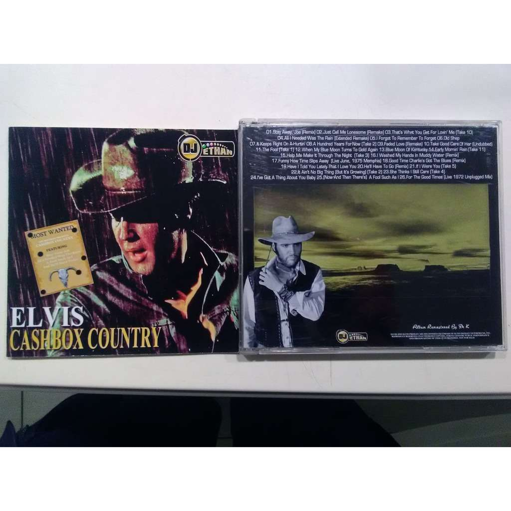 elvis presley 001 cd cashbox country 25 outtakes
