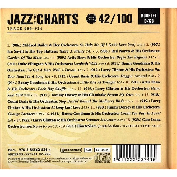 Various Jazz In The Charts 42/100