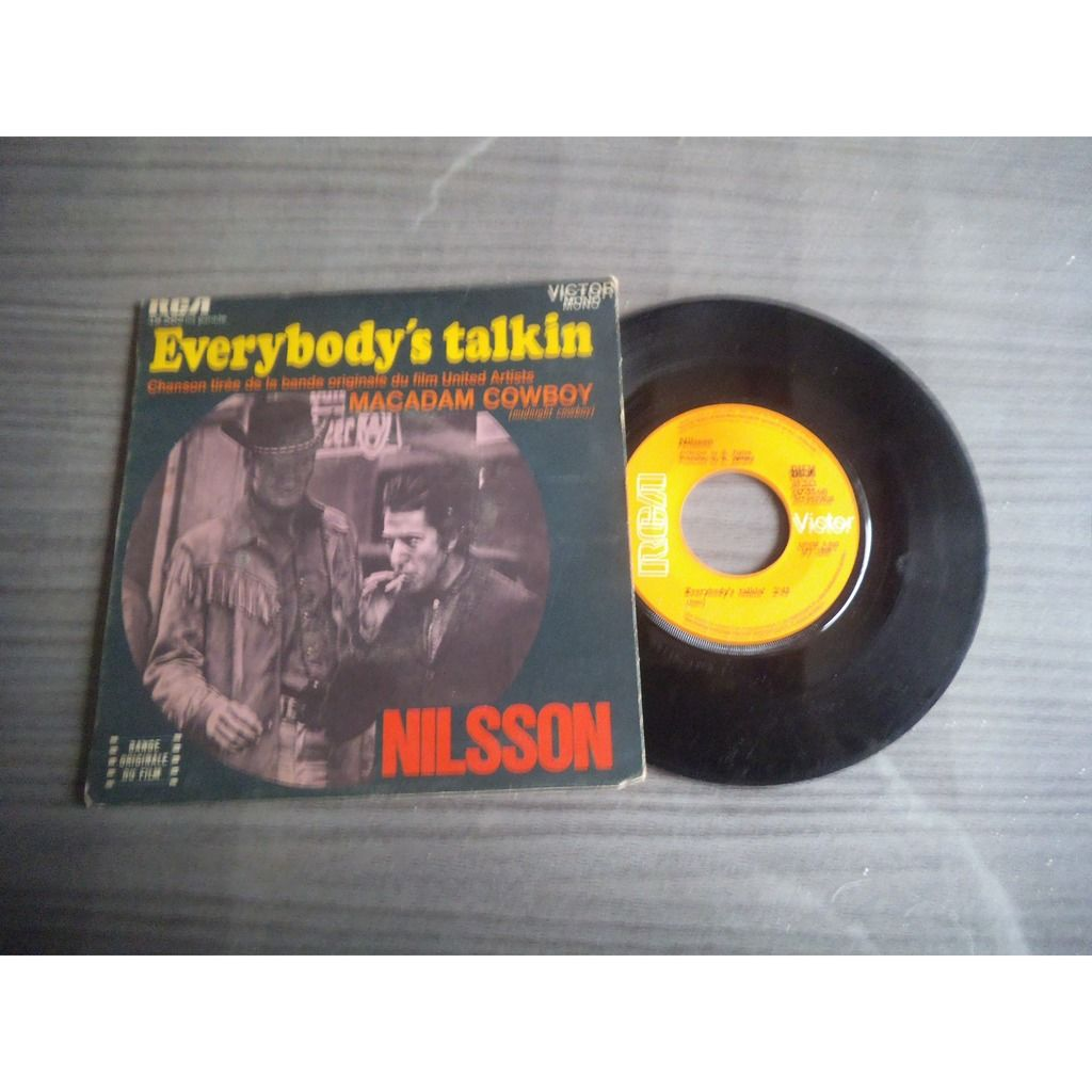 NILSSON EVERYBODY'S TALKIN / DON'T LEAVE ME