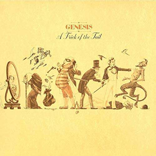 genesis a trick of the tail -france- -black lbl-