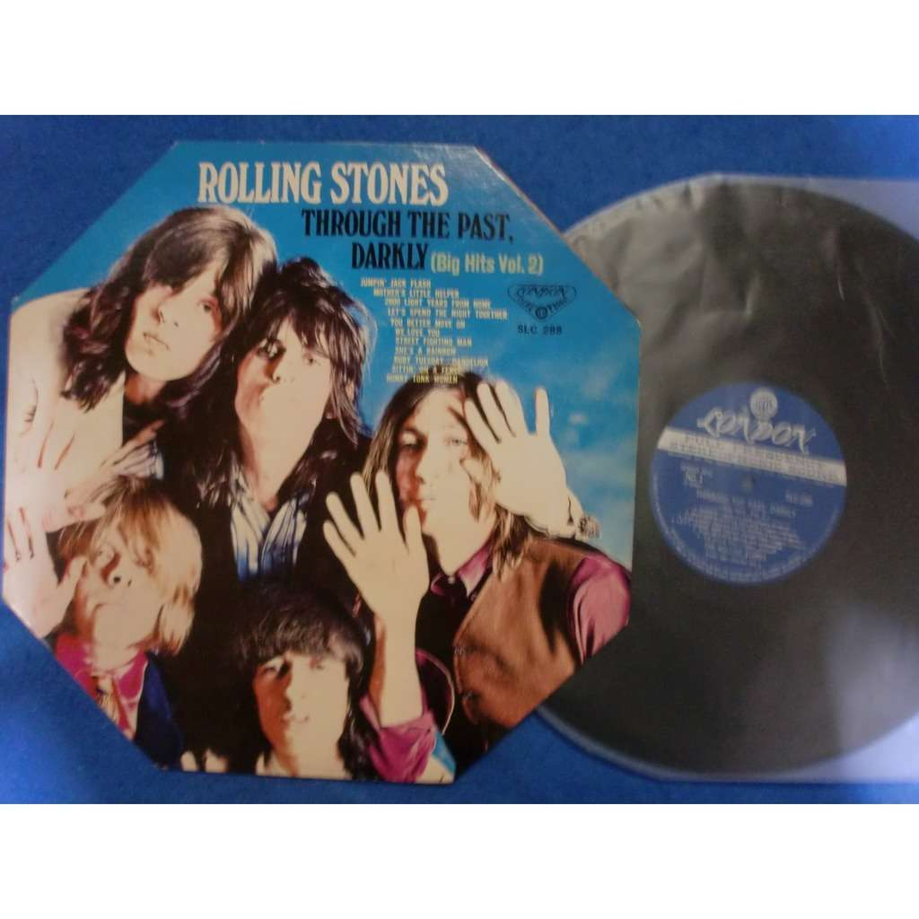 rolling stones through the past, darkly