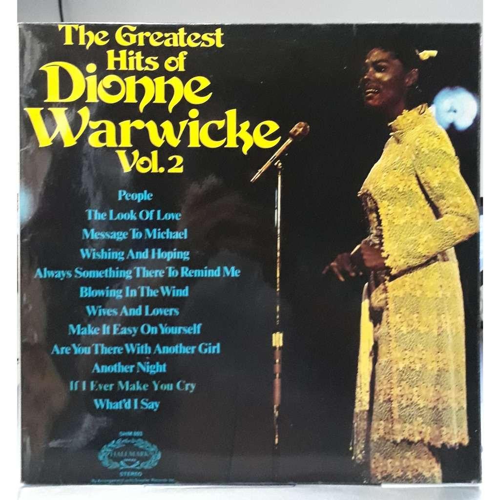 dionne warwicke greatest hits of dionne warwicke vol 2