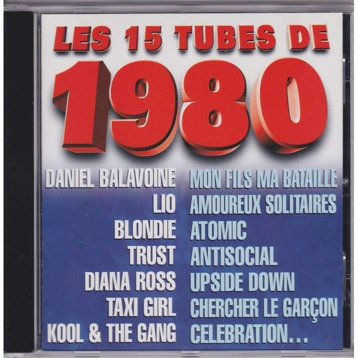 divers artistes - various artist Les 15 tubes de 1980