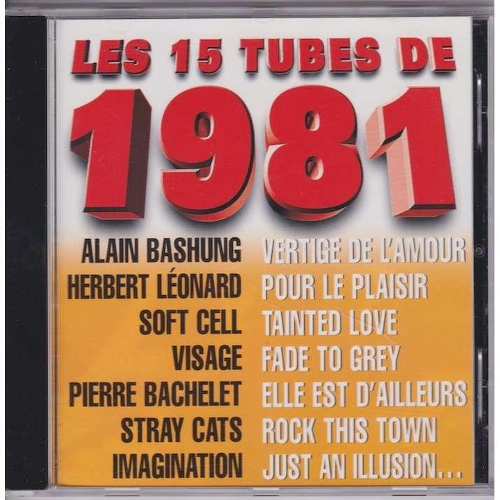 divers artistes - various artist Les 15 tubes de 1981