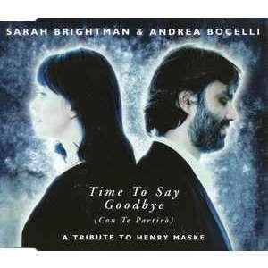 sarah brightman & andrea bocelli Time To Say Goodbye (Con Te Partirò)