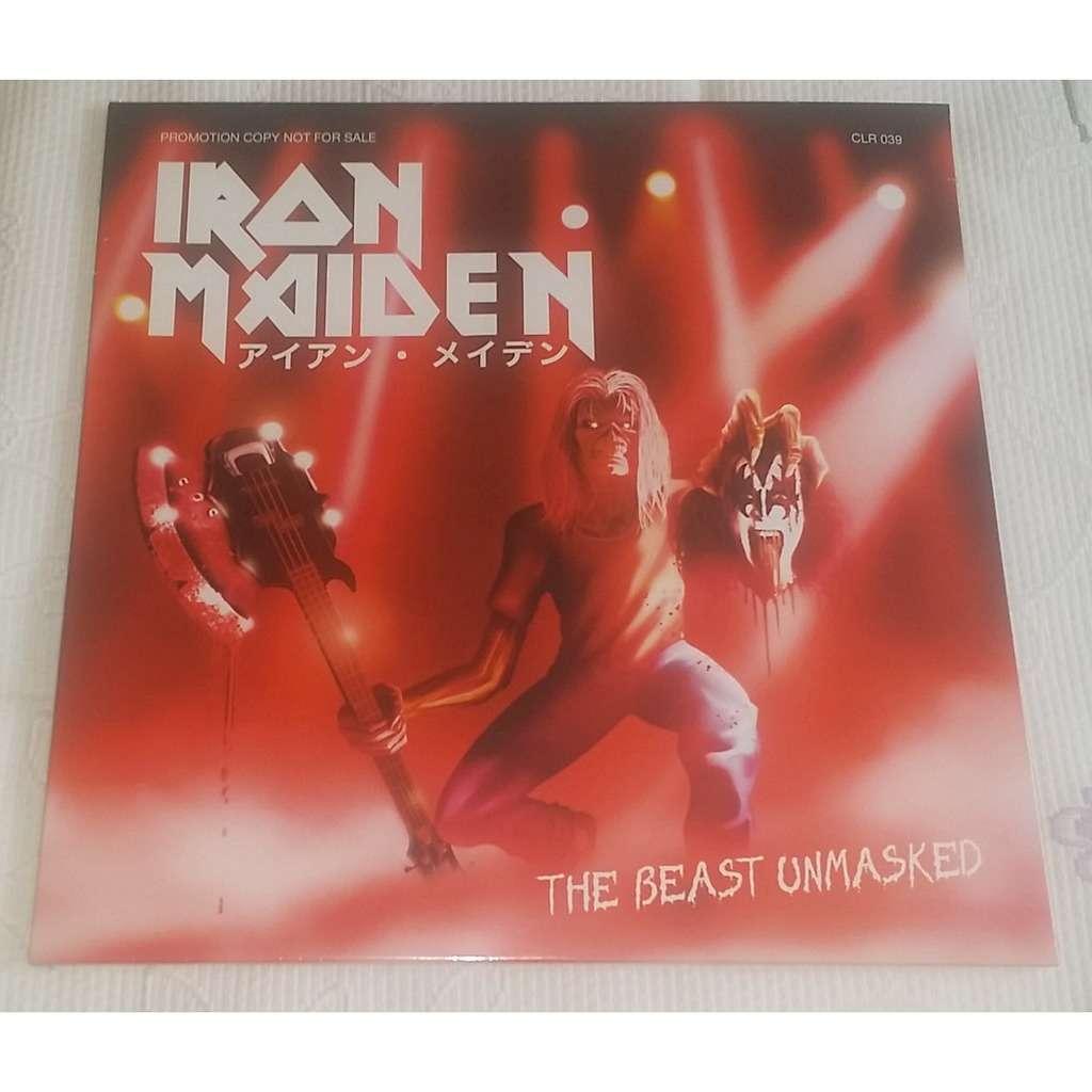 iron maiden the beast unmasked lp white vinyl