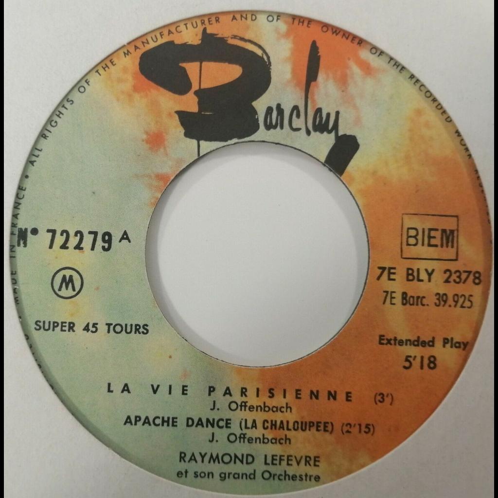 Raymond Lefèvre y Su Gran Orquesta Paris Cancan +3
