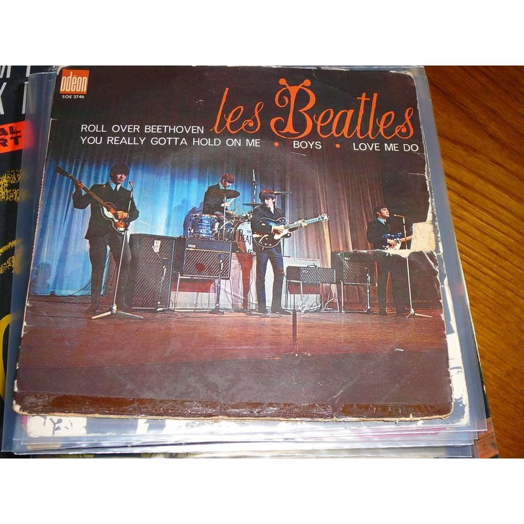 BEATLES ROLL OVER BEETHOVEN / YOU REALLY GOTTA HOLD ON ME