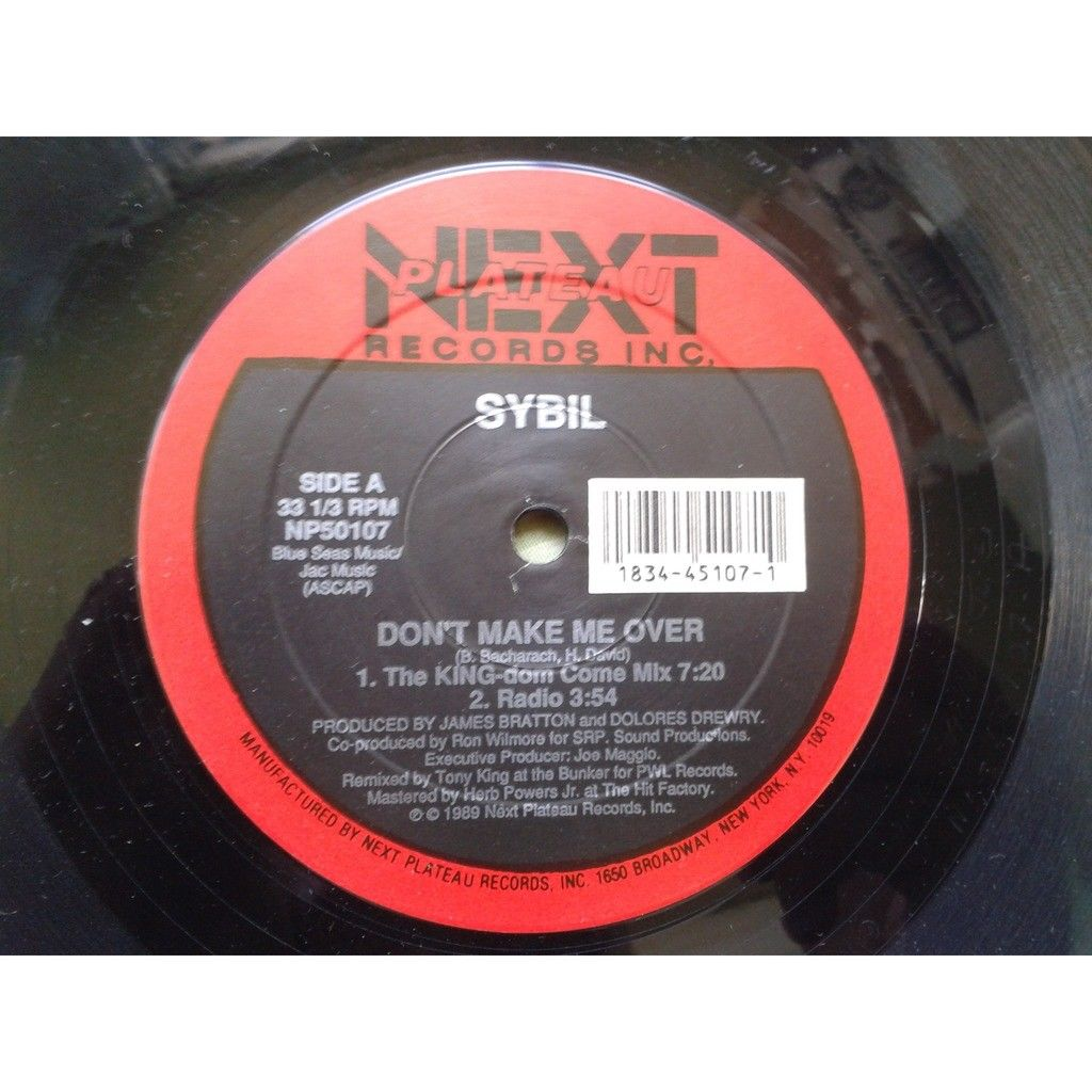 Sybil - Don't make me over-Falling In Love (Club Sybil - Don't make me over-Falling In Love (Club