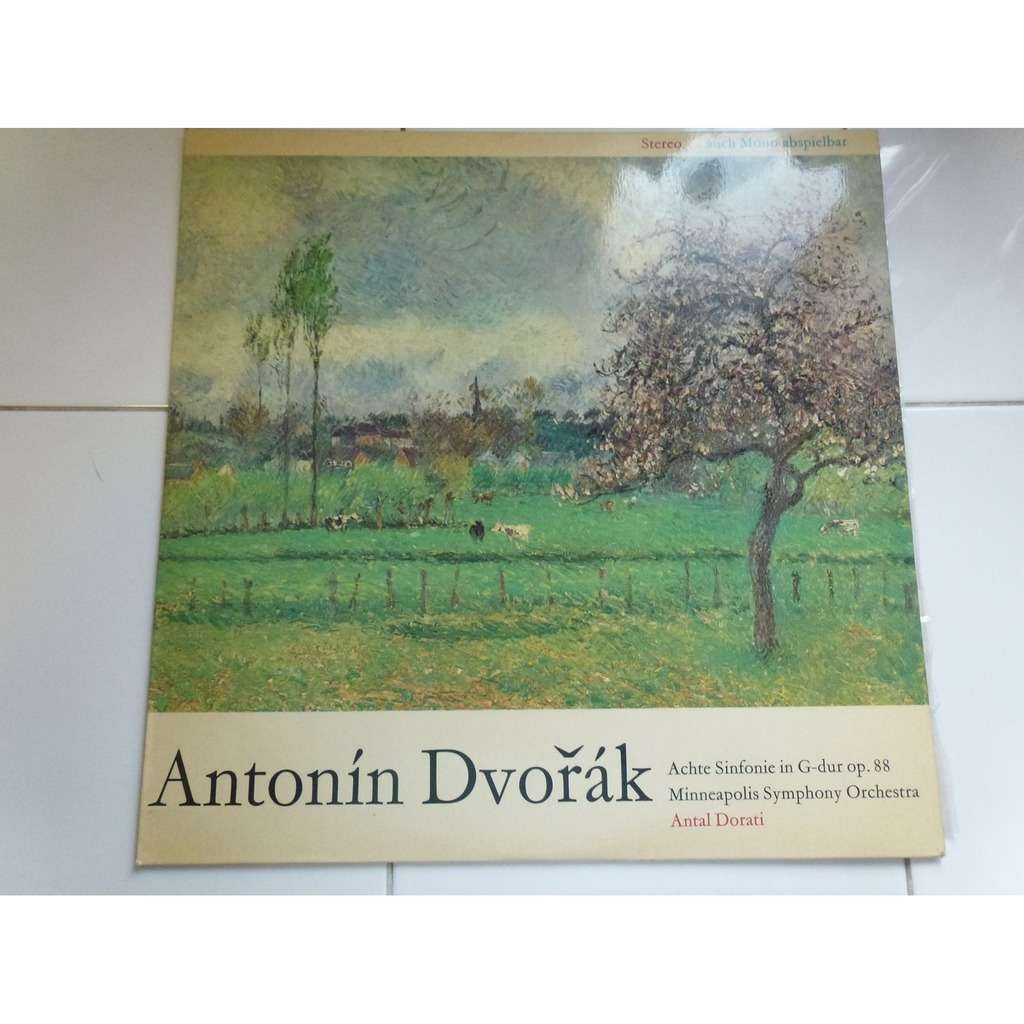 Antonín Dvorák - Antal Dorati Symphony N° 8 In G Major op.88 - ( stéréo near mint condition )