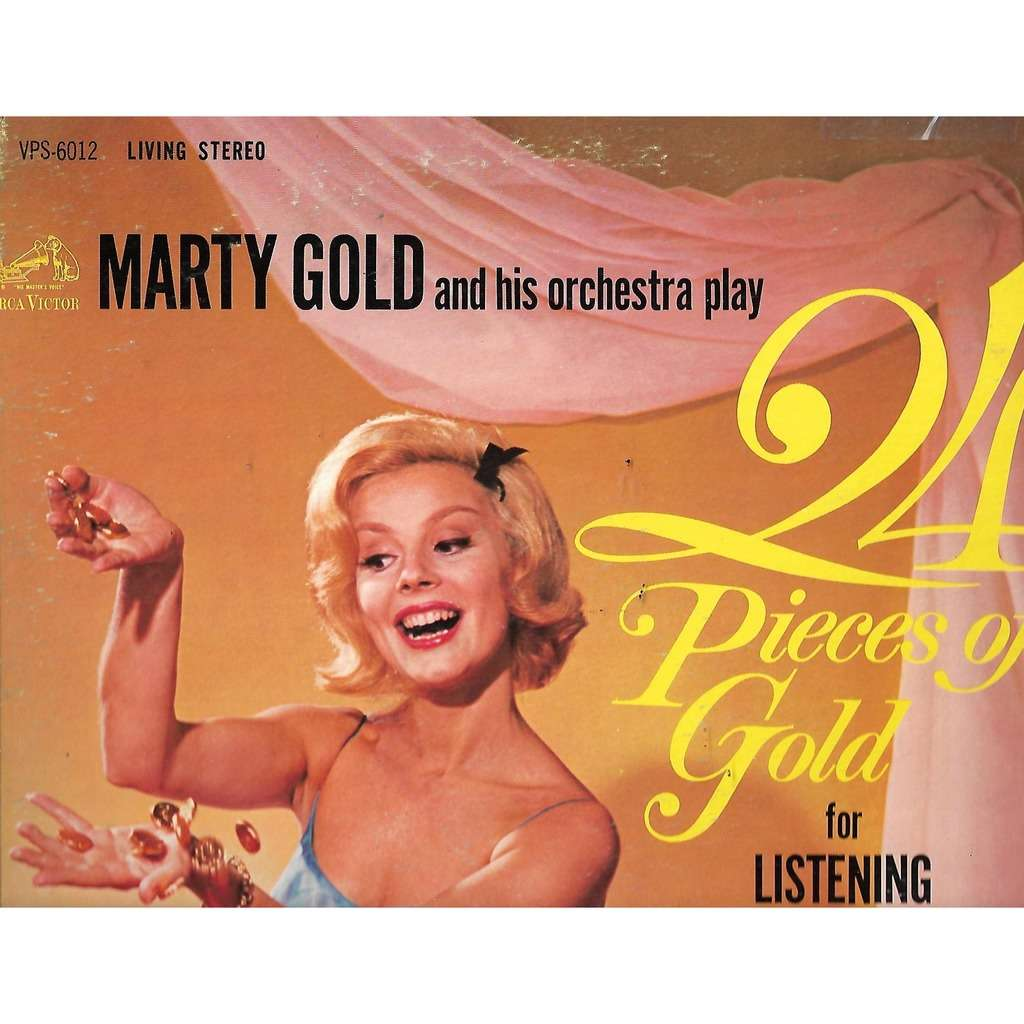Marty Gold And His Orchestra 24 Pieces Of Gold