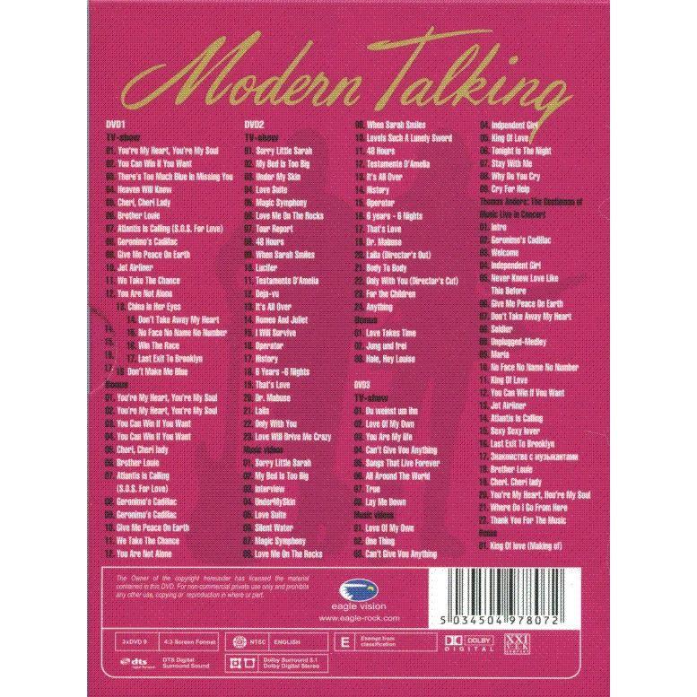 Modern Talking 30 (Digipak) 3DVD
