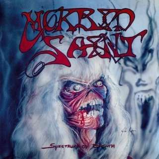 MORBID SAINT Spectrum of Death. Red Vinyl