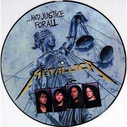 Metallica ...And Justice For All (USA 1988 Ltd re 11-trk promo LP Picture Disc PVC slv!)
