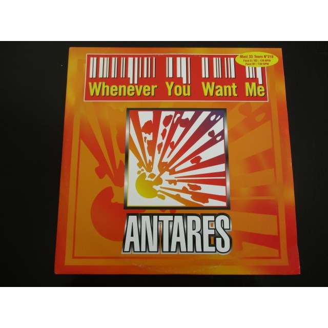 Antares (3) Whenever You Want Me