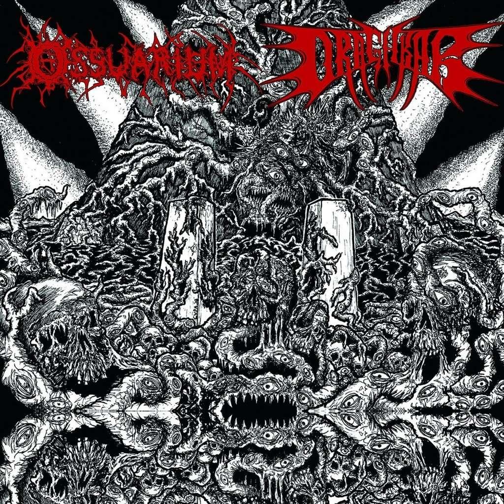 OSSUARIUM / DRAGHKAR Ossuarium - Draghkar. Black Vinyl