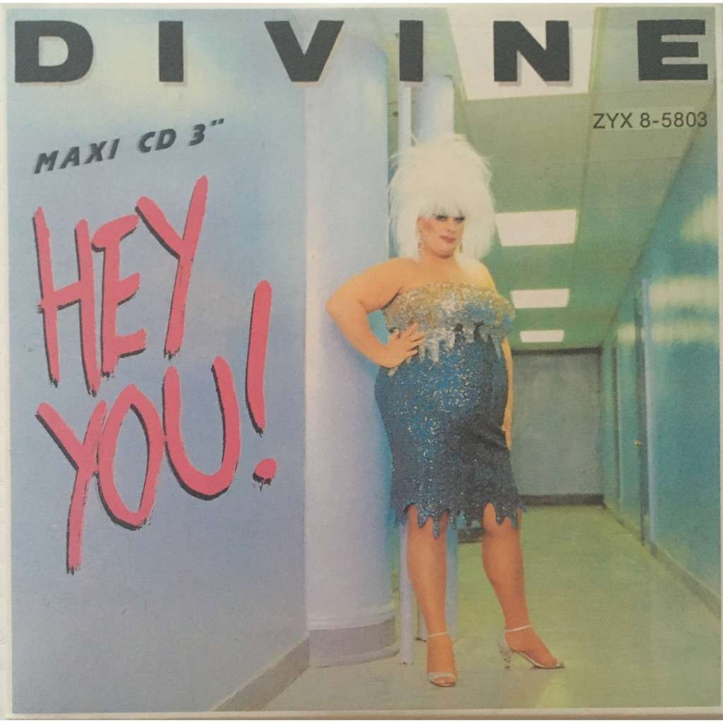 DIVINE - HEY YOU ! (GER. PRESSING 2 TRK 3 MINI-CD + ADAPTER)