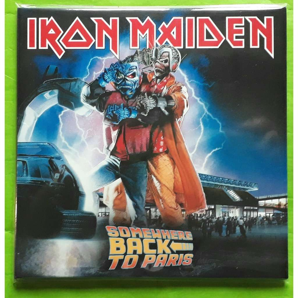 IRON MAIDEN SOMEWHERE BACK TO PARIS-(Limited édition)(2CD)(Digipack)(Original)(2019)(Russie).