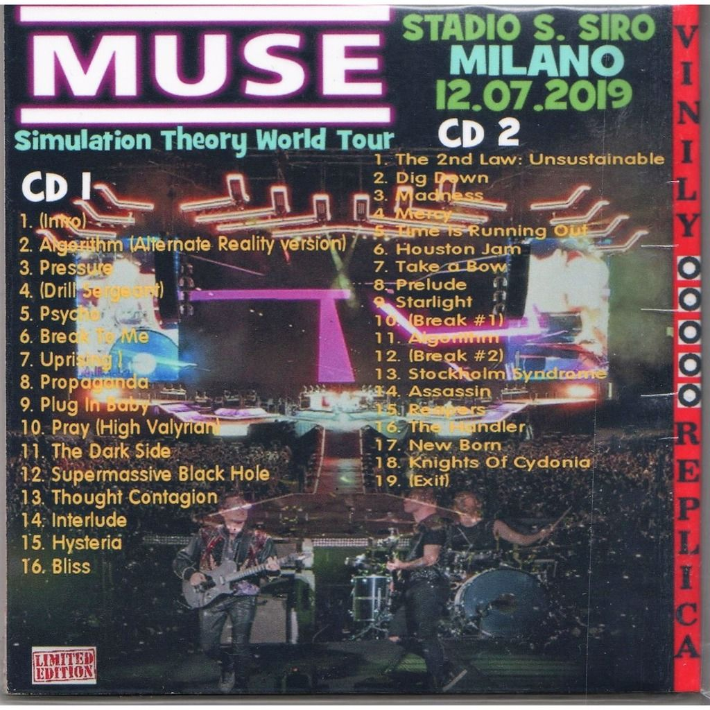 Muse Live At 'Stadio San Siro' (Milan IT 12.07.2019)