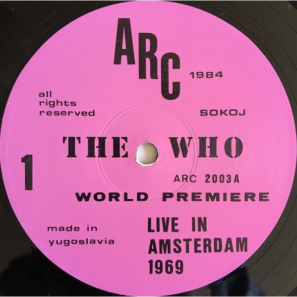 THE WHO World Premiere