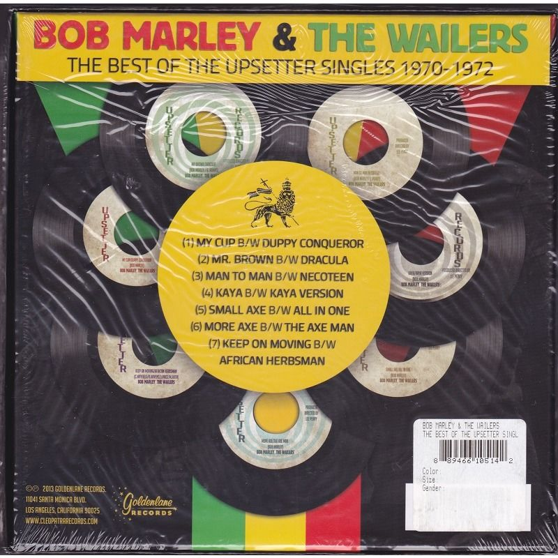 bob marley & the wailers the best of the Upsetter singles 1970-1972(7 singles box set)