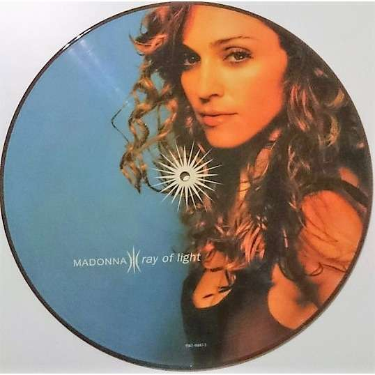 Madonna Ray Of Light (USA 1998 Ltd re 13-trk LP Picture Disc on Maverick -Warner Bros. Records lbl PVC slv!)