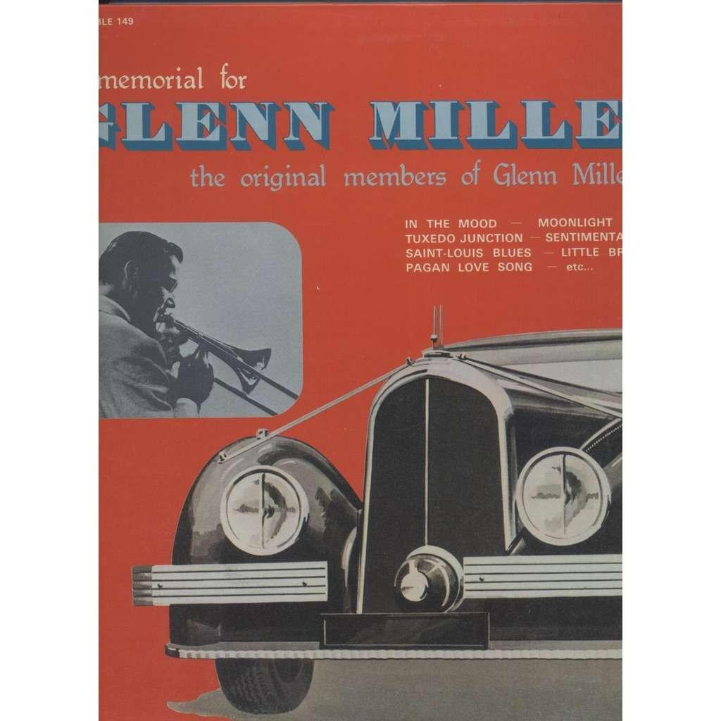 Miller Bigband Orchestra A Memorial For Glenn Miller Vol.1