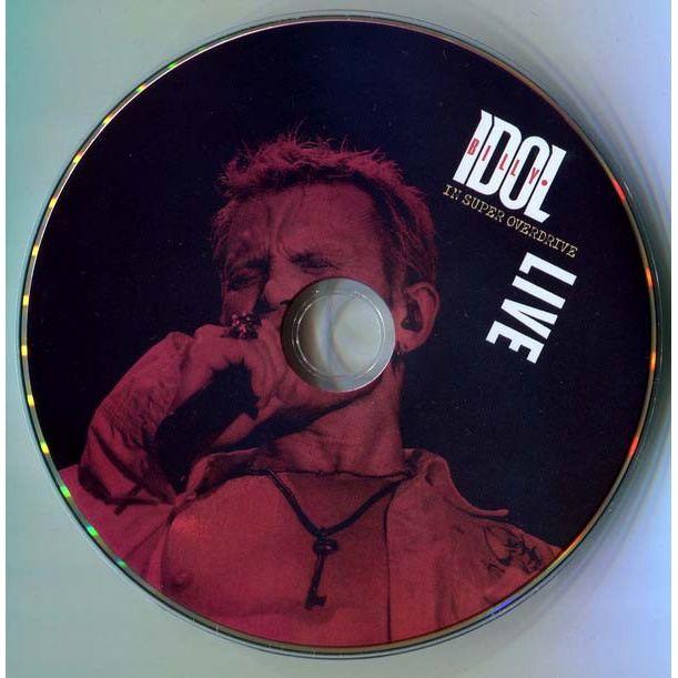 Billy Idol In Super Overdrive Live DVD Digipak in slipcase