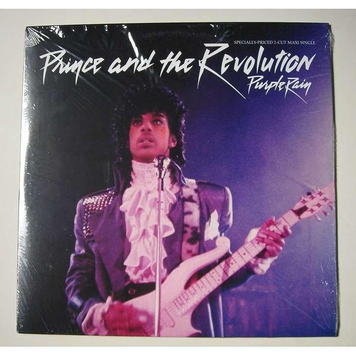 prince purple rain +1 (12 inch single)