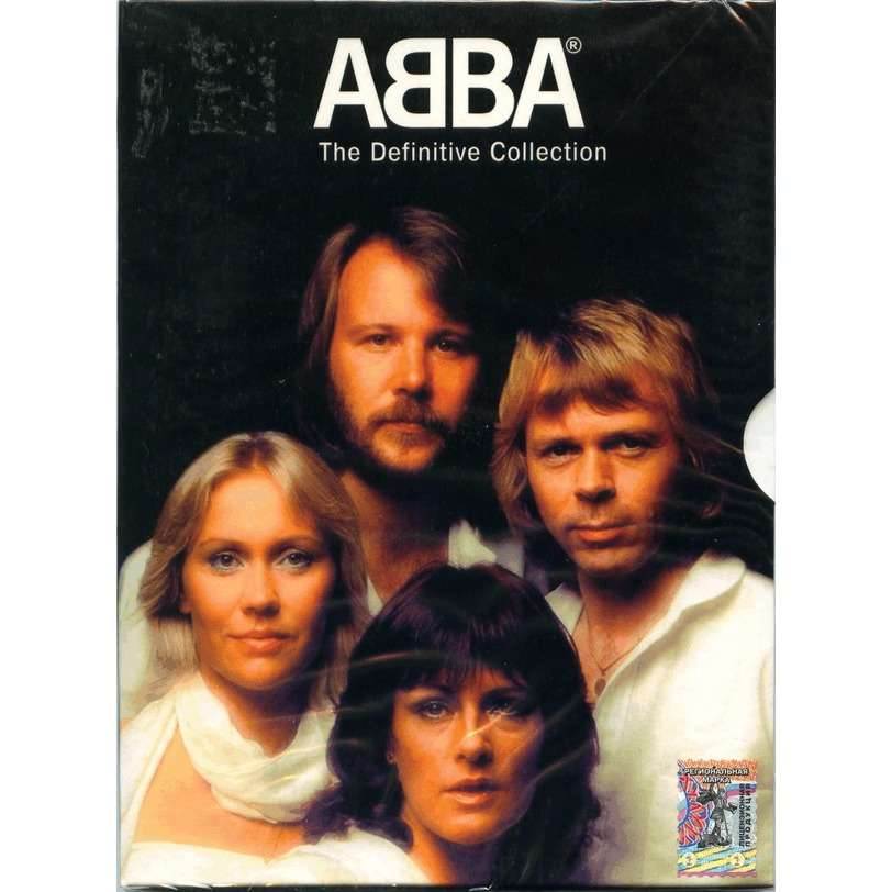 Abba The Definitive Collection (Digipak in slipcase) DVD Sealed