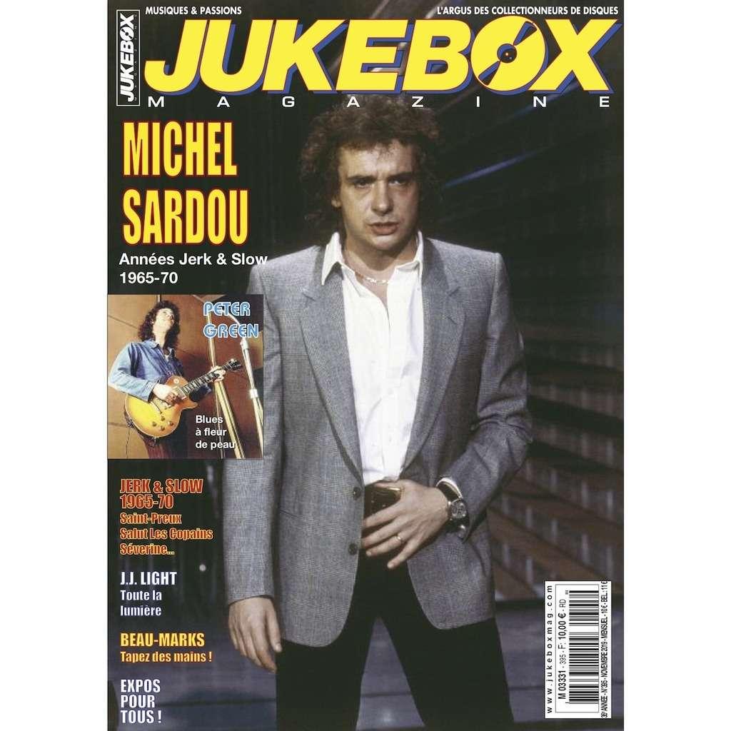 N°395 (NOVEMBRE 2019) MICHEL SARDOU MAGAZINE - JUKEBOXMAG.COM