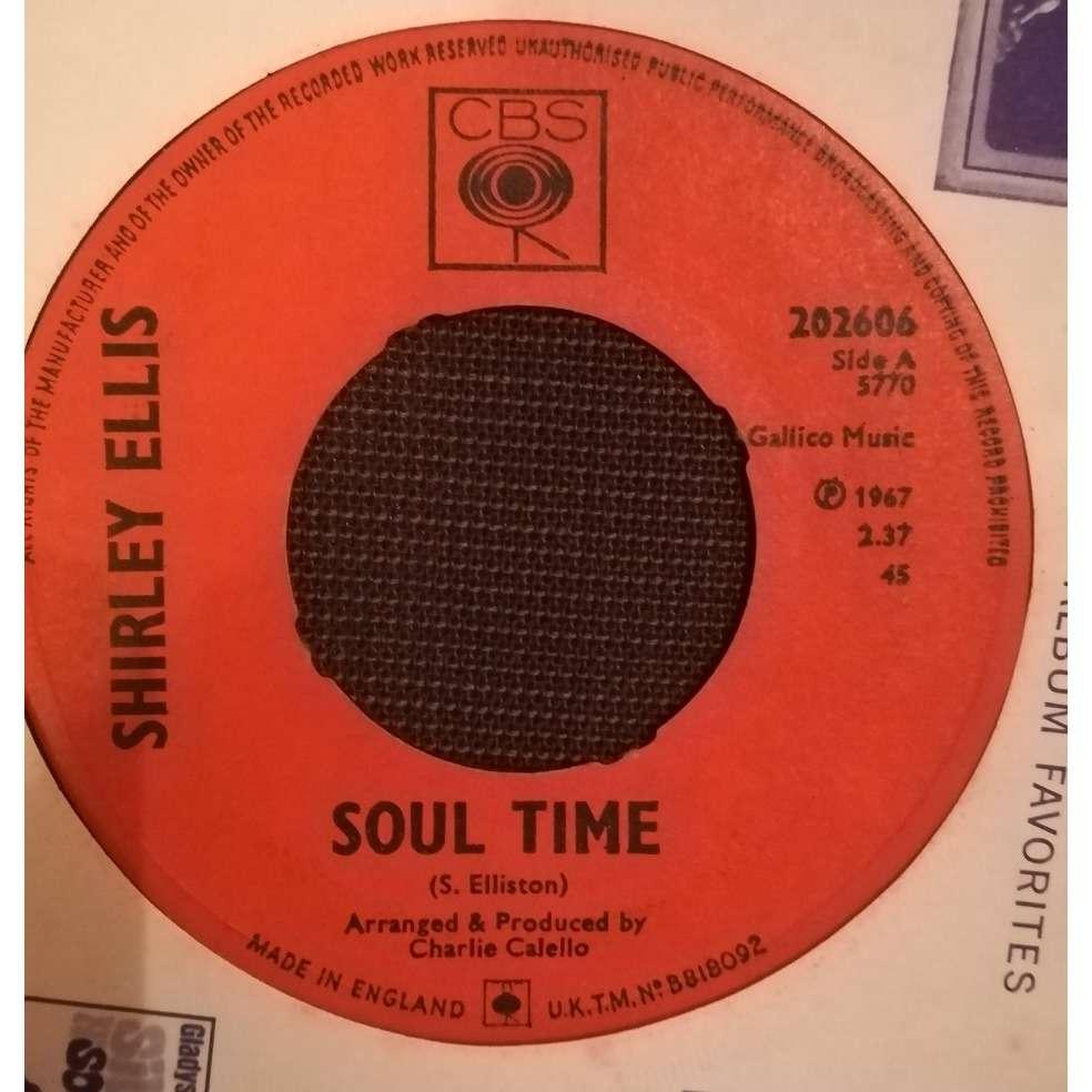 Shirley Ellis Soul Time / Waitin'