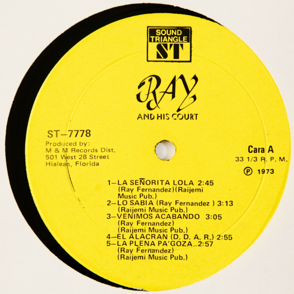 Ray And His Court Ray And His Court (Latin/Funk) Boogaloo