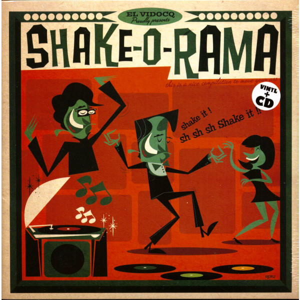 Shake-O-Rama vol.1 - Harvey Fuqua/Ricardo Ray