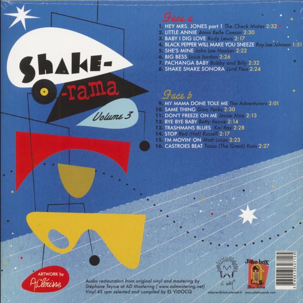 Shake-O-Rama Vol. 3 Louis Jordan/Gino Parks