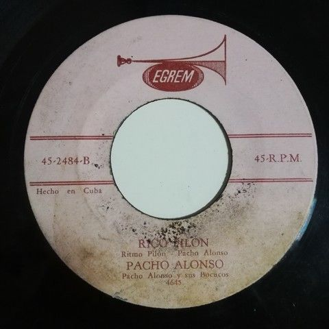 Pacho Alonso y sus Pachucos En Guayabero(ritmo pilon)/Rico Pilon(ritmo pilon)
