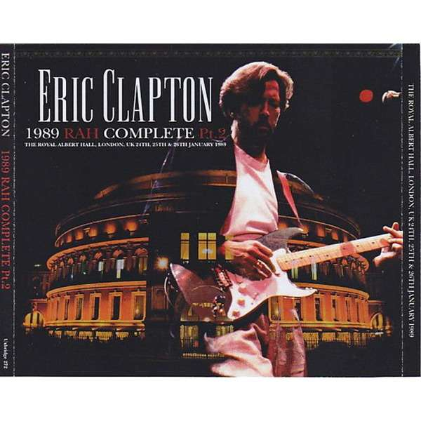 eric clapton 1989 Royal Albert Hall Complete Part 2