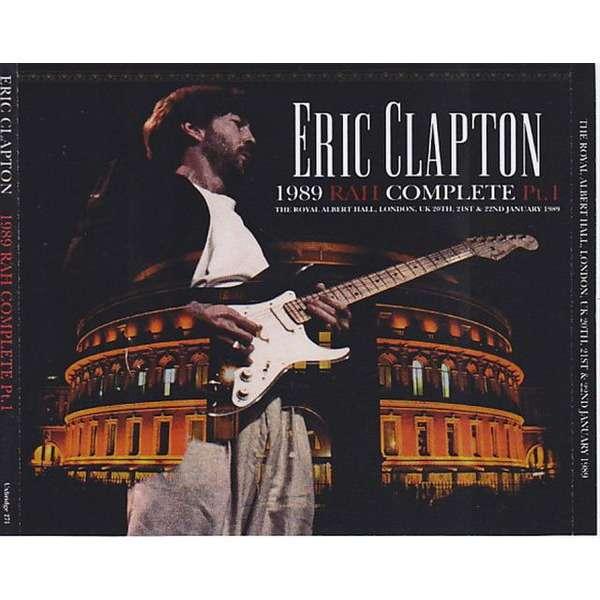 eric clapton 1989 RAH Complete Part 1