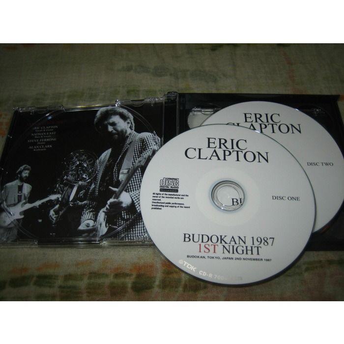 eric clapton Budokan 1987 1st & 2nd Night