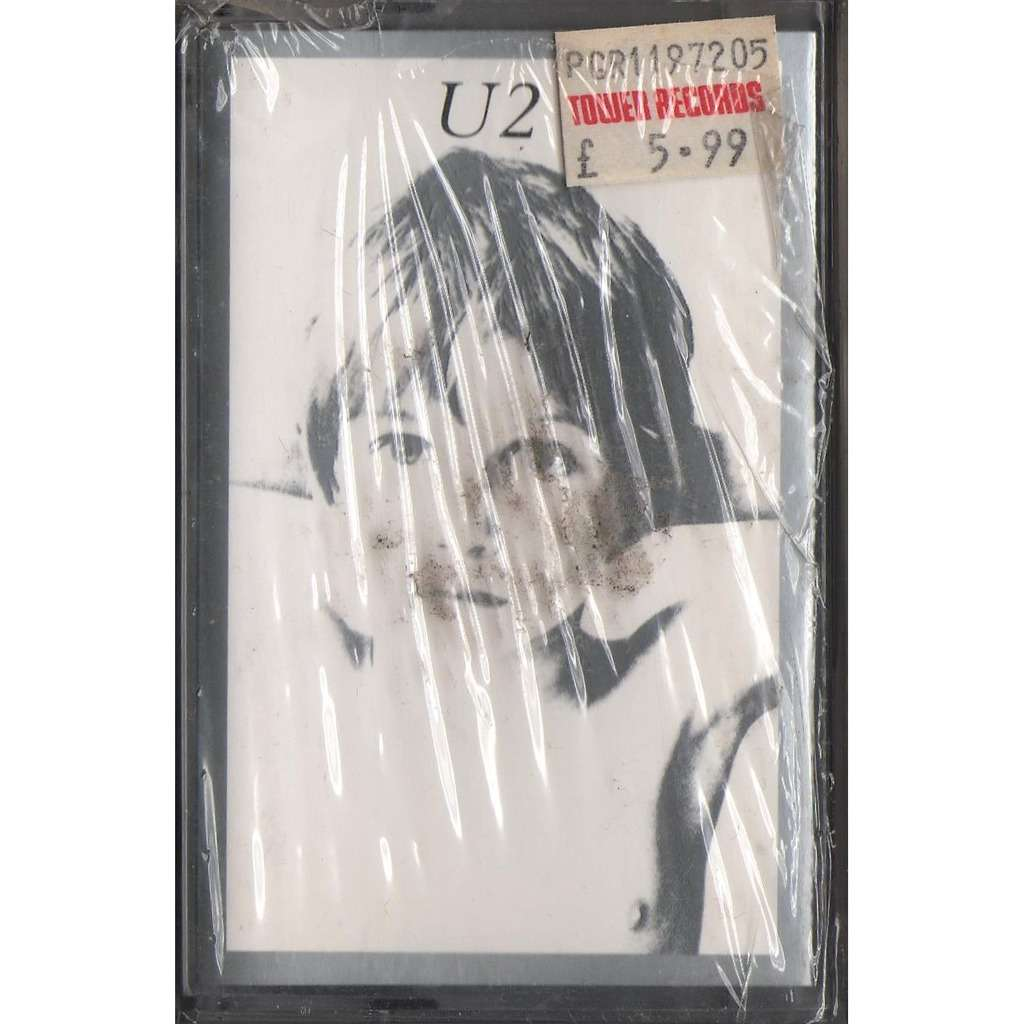 U2 Boy (Holland Ltd re 11-trk Cassette album full ps-Sealed copy!!)