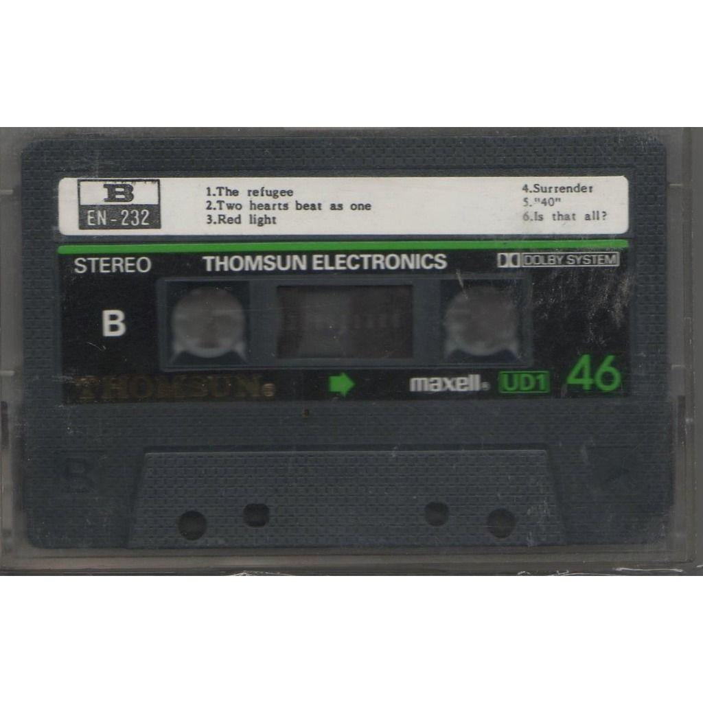 u2 war (United Arab Emirates 1983 original 11-trk Cassette album on Thomsun Original lbl unique ps)