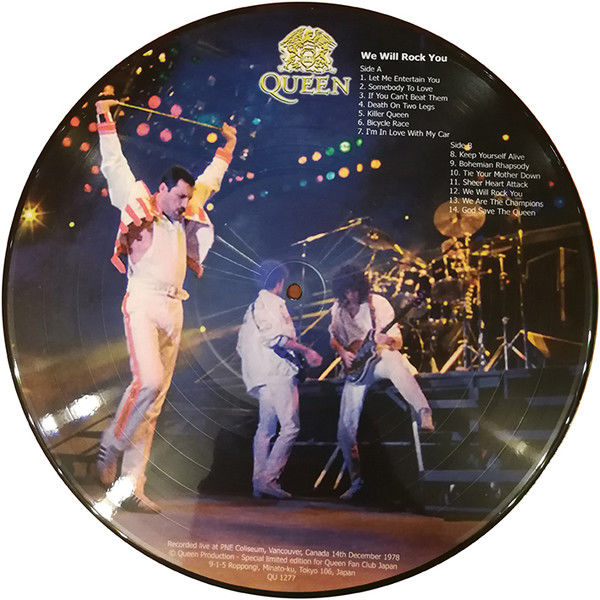 Queen We Will Rock You (PNE Coliseum Vancouver Canada 14.12.1978)