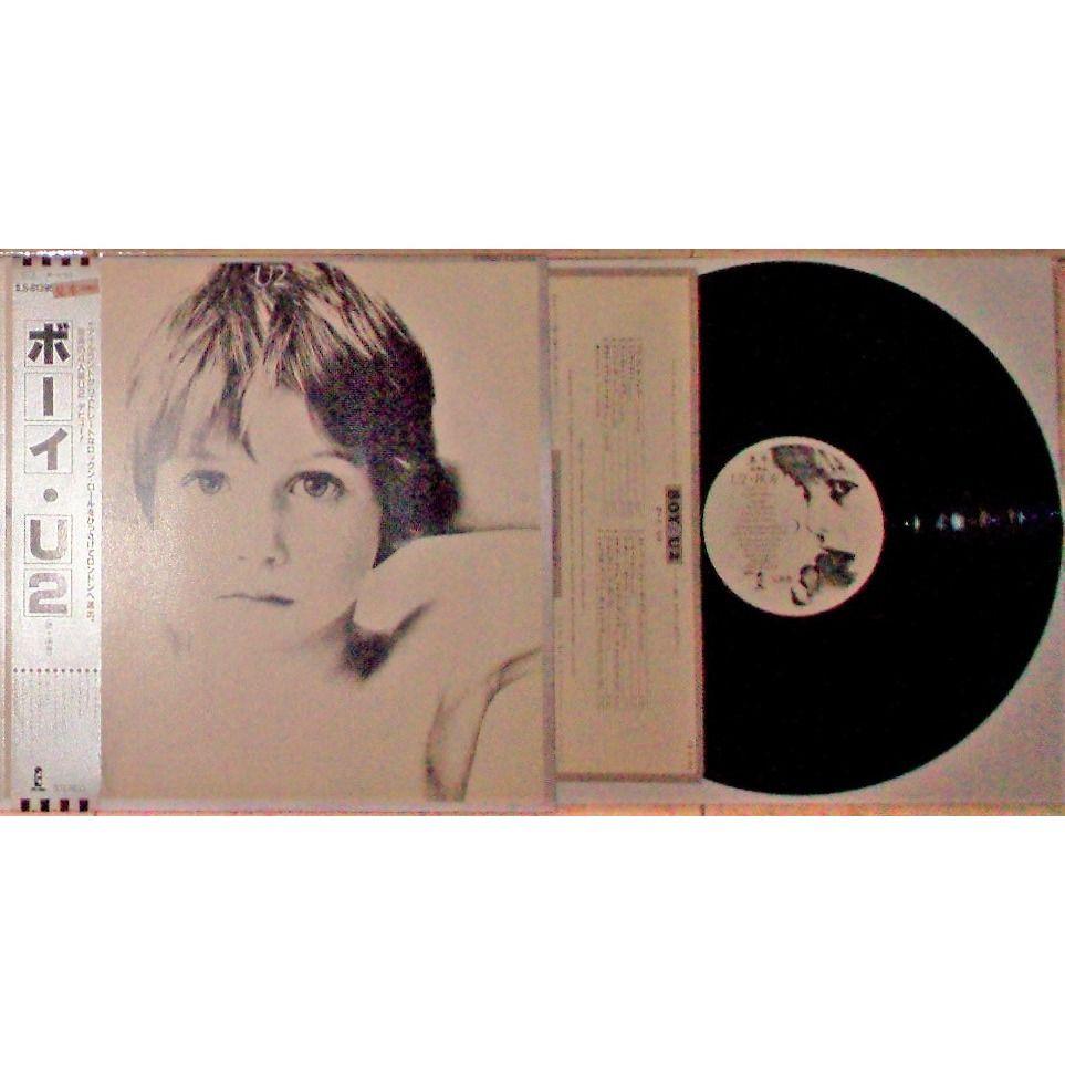 u2 Boy (Japan 1980 original 1st withdrawn issue 11-trk PROMO LP on EMI-Toshiba lbl full ps+obi+ insert)