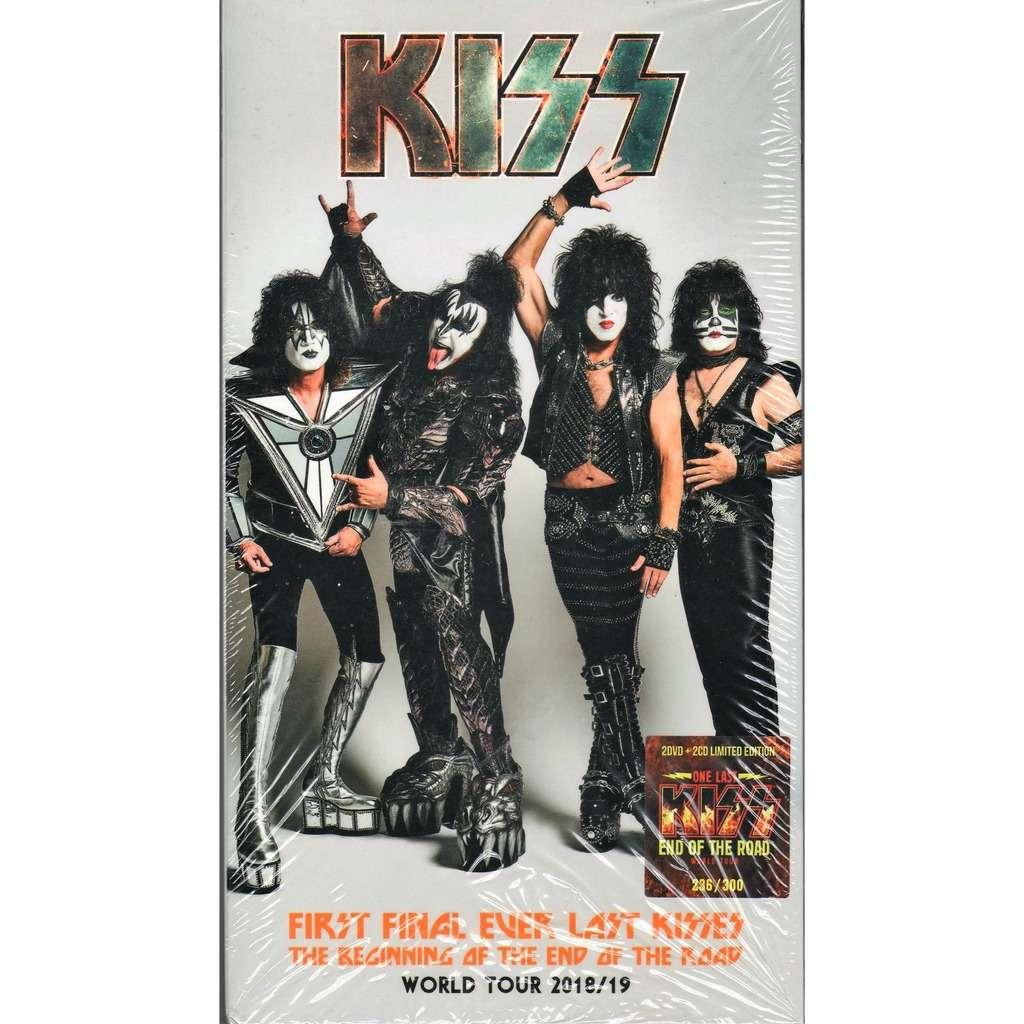 KISS First Final Ever Last Kisses (World Tour 2018/19) (Ltd 300 no'd copies live 2CD+2DVD Box + book!)